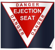 Military aviation ejection seat Poster