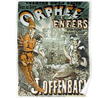 Vintage poster - Orphee aux Enfers Poster