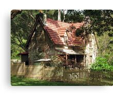 The Olde Gardener's Cottage Canvas Print