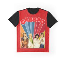 ABBA restored EPIC 70's mega poster design. Made with love by ISNPIRINGPEOPLE! Graphic T-Shirt