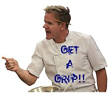 Chef Gordon Ramsay Has a Grip Photographic Print