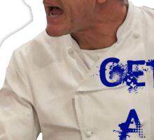 Chef Gordon Ramsay Has a Grip Sticker