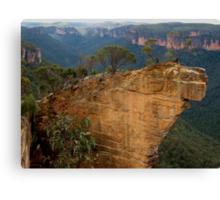 Hanging Rock, Blackheath Canvas Print