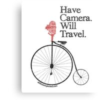 Have Camera Will Travel Alt Version T-shirts & Gifts Metal Print