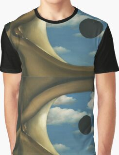 The False Mirror - Magritte Graphic T-Shirt