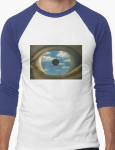 The False Mirror - Magritte Men's Baseball ¾ T-Shirt