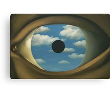 The False Mirror - Magritte Canvas Print
