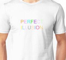 Lady gaga perfect illusion Unisex T-Shirt