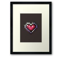 Heart Max Item SOTN Framed Print