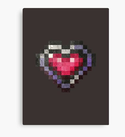Heart Max Item SOTN Canvas Print