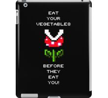 EAT YOUR VEGETABLES! iPad Case/Skin