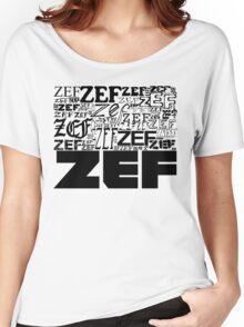 ZEFZEFZEF Women's Relaxed Fit T-Shirt