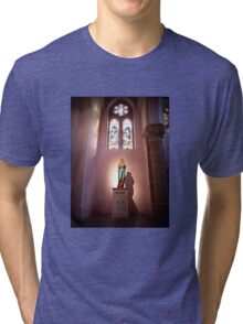 The Madonna And Child Tri-blend T-Shirt