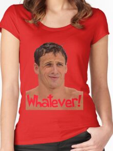 Whatever Ryan Lochte Women's Fitted Scoop T-Shirt