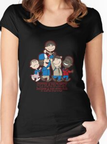 Stranger Peanuts Women's Fitted Scoop T-Shirt