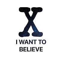 I Want to Believe - Stars Photographic Print