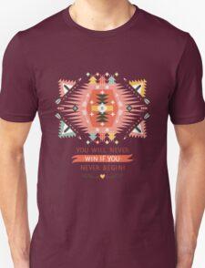 Ethnic print vector pattern background Unisex T-Shirt