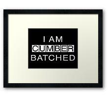 I Am Cumberbatched Framed Print