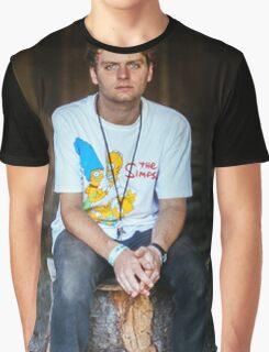 Mac DeMarco on a Stump Graphic T-Shirt