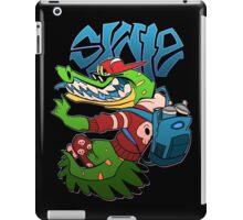 SKATER GATOR iPad Case/Skin