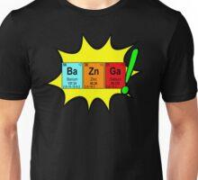 Bazinga! Humorous colorful chemistry geek design Unisex T-Shirt