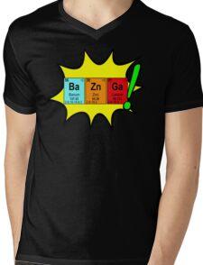 Bazinga! Humorous colorful chemistry geek design Mens V-Neck T-Shirt