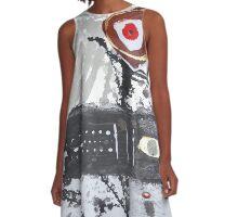the tribe 2 A-Line Dress