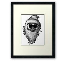 Funky Santa Framed Print