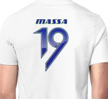 FELIPE MASSA #19 _HELMET_2014 Unisex T-Shirt