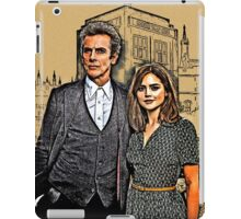 Doctor and Clara Mixed Sketch iPad Case/Skin
