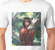 Dragon Haku and Chihiro  Unisex T-Shirt