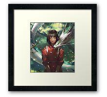Dragon Haku and Chihiro  Framed Print