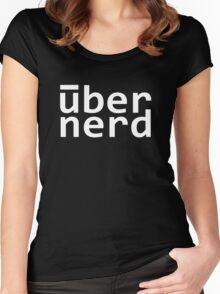 uber nerd - über nerd Women's Fitted Scoop T-Shirt