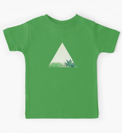 Succulent Forest Kids Tee