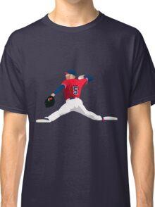 Freddie Freeman Fielding Art Classic T-Shirt