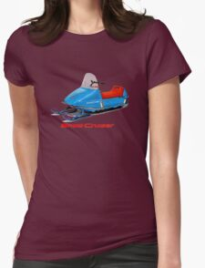 Snow Cruiser Vintage Snowmobiles Womens Fitted T-Shirt
