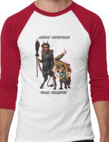 Merry Christmas... From Krampus Men's Baseball ¾ T-Shirt