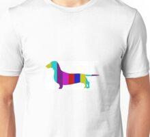 Stripy Dachshund Range Unisex T-Shirt