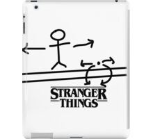 STRANGER THINGS THE ACROBAT AND THE FLEA  iPad Case/Skin