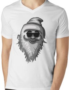 Funky Santa Mens V-Neck T-Shirt
