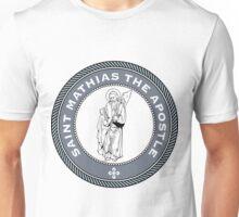 ST MATTHIAS THE APOSTLE MEDALLION Unisex T-Shirt