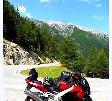 A motorbiketrip to the Hahntennjoch by ©The Creative  Minds