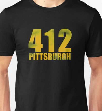 Vintage 412 - Pittsburgh Unisex T-Shirt