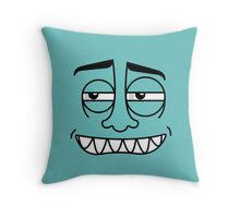 Colorface #10 Throw Pillow