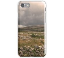 The wild Burren National Park iPhone Case/Skin