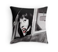 Drive & Don't Miss! Throw Pillow