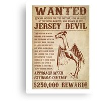 Jersey Devil Canvas Print
