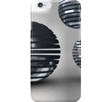Gridded Spheres iPhone Case/Skin