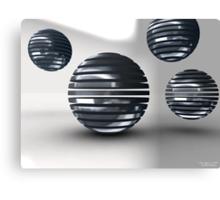 Gridded Spheres Canvas Print