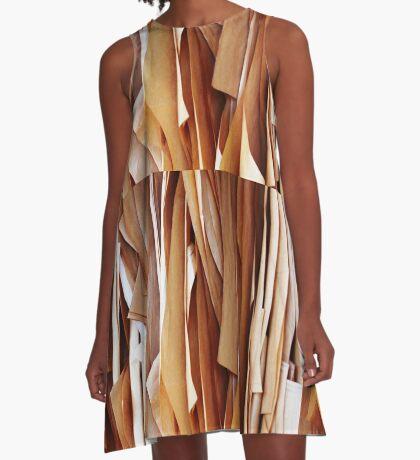 Paper sheets A-Line Dress